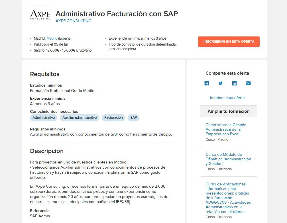 Административный работник со знанием SAP и опытом работы с финансовой документацией будет зарабатывать 12 000—15 000€ в год, или 933—1075€ в месяц
