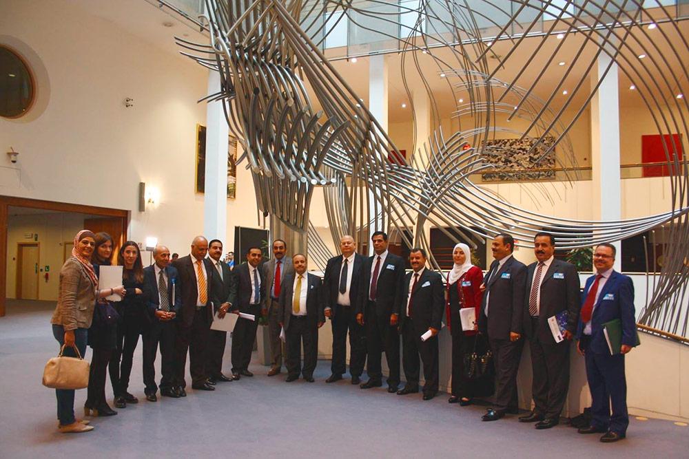 Сопровождаем делегацию в учебной поездке в Европарламент