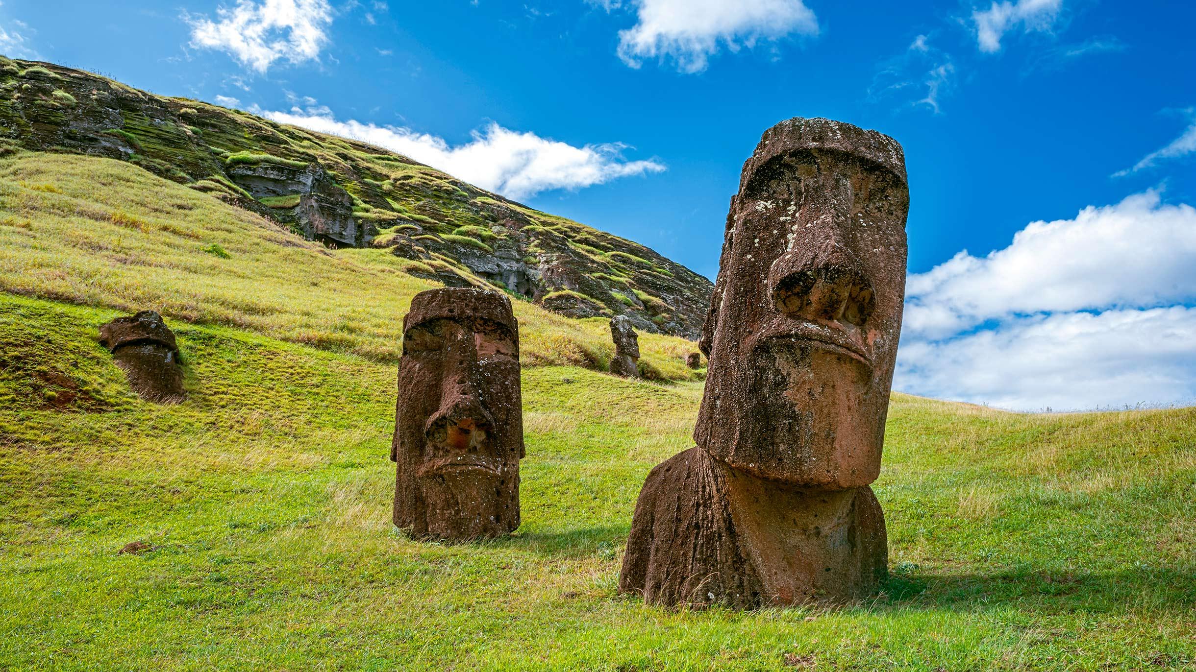Я съездил на остров Пасхи