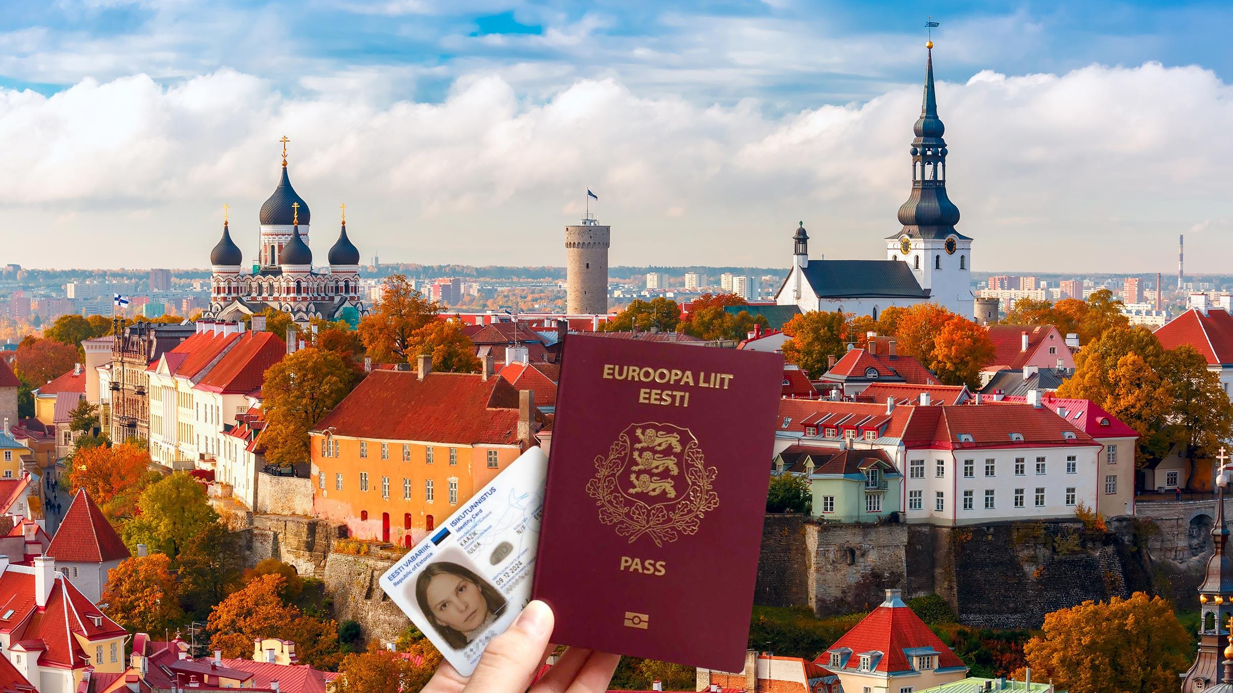 Я получила гражданство Эстонии по рождению