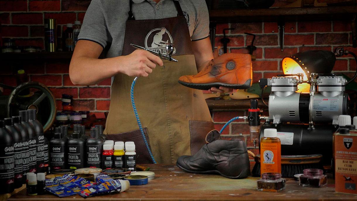Бизнес: реставрация изделий из кожи и замши в Краснодаре