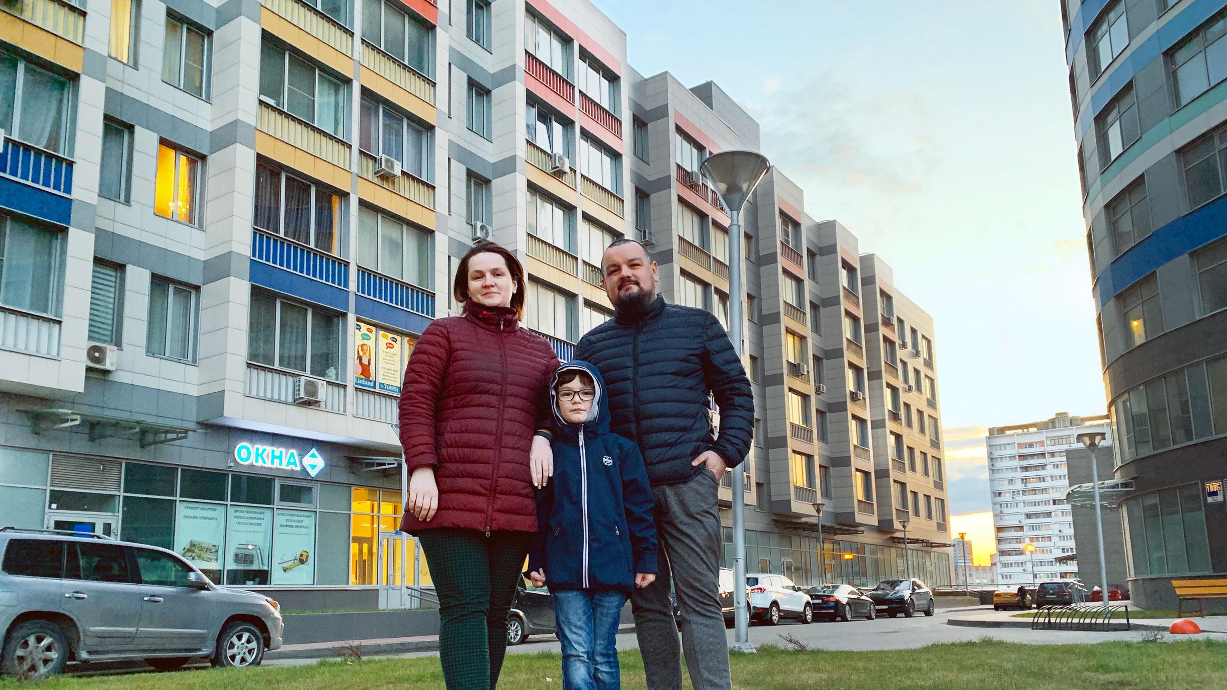 Я переехал из Ижевска в Москву с семьей