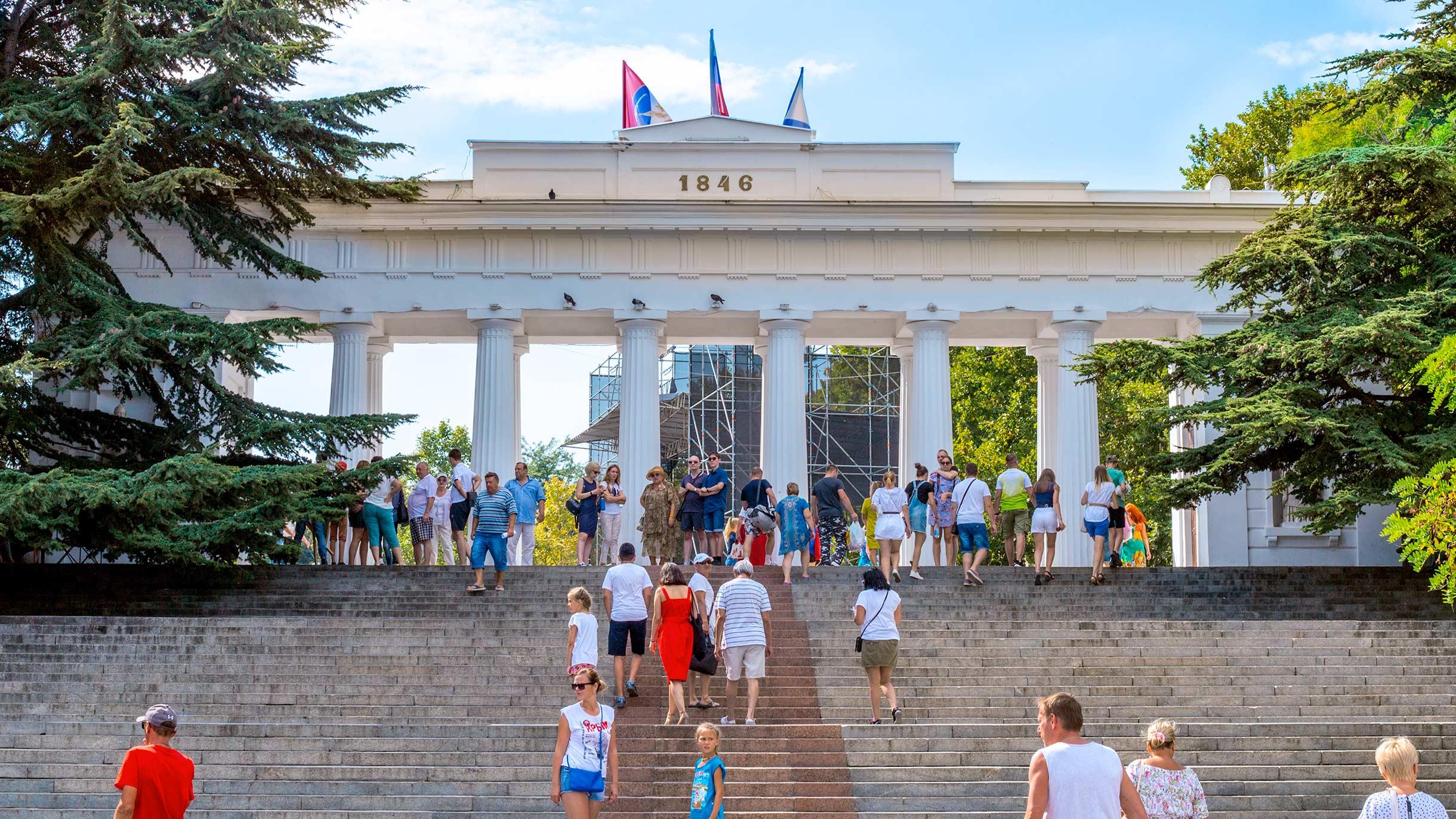 Жизнь в Севастополе