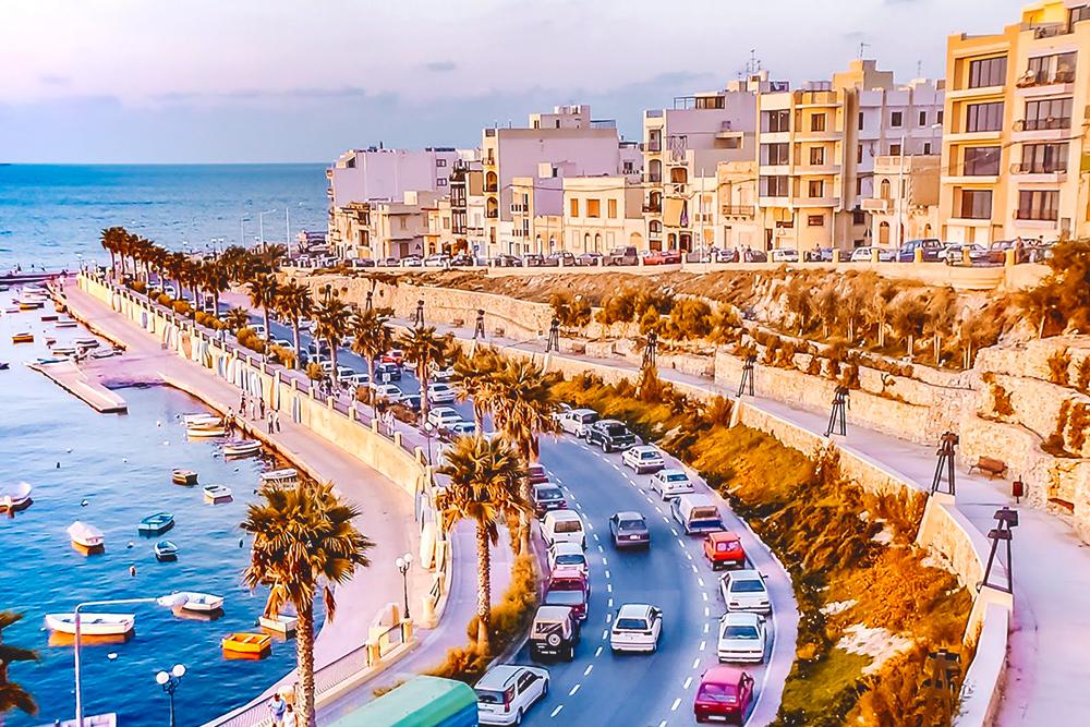 Мой район — Сент-Полс-Бей, он же San Pawl il-Bahar по-мальтийски