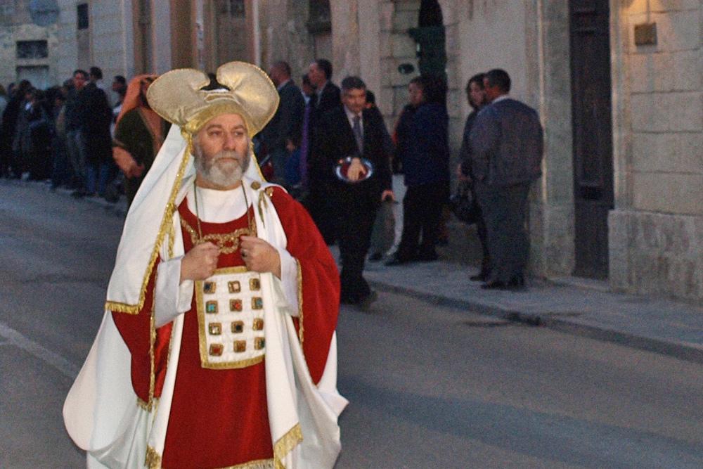 Костюмированное шествие во время фесты Санта-Мария