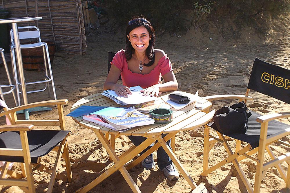 Моя первая учительница английского на Мальте — Стефани. Иногда занятия мы проводили на пляже