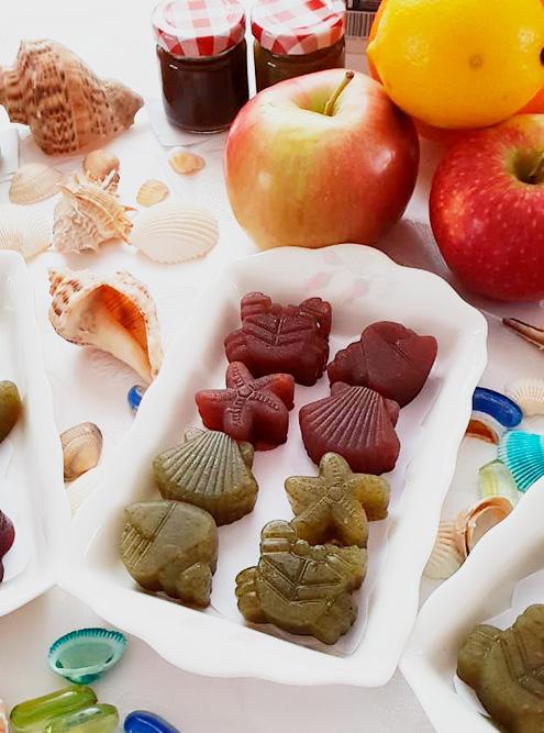 Экспериментируем с разными формами желейных конфет