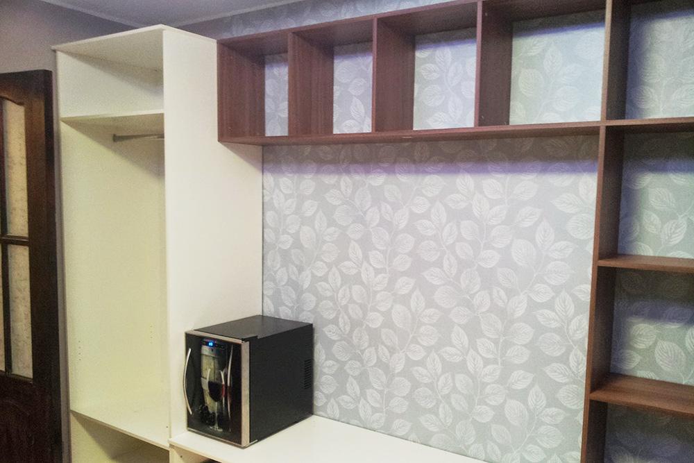 Наш самодельный шкаф во всю стену