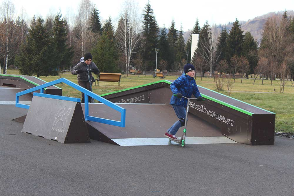 В 2019году в городе появился скейт-парк