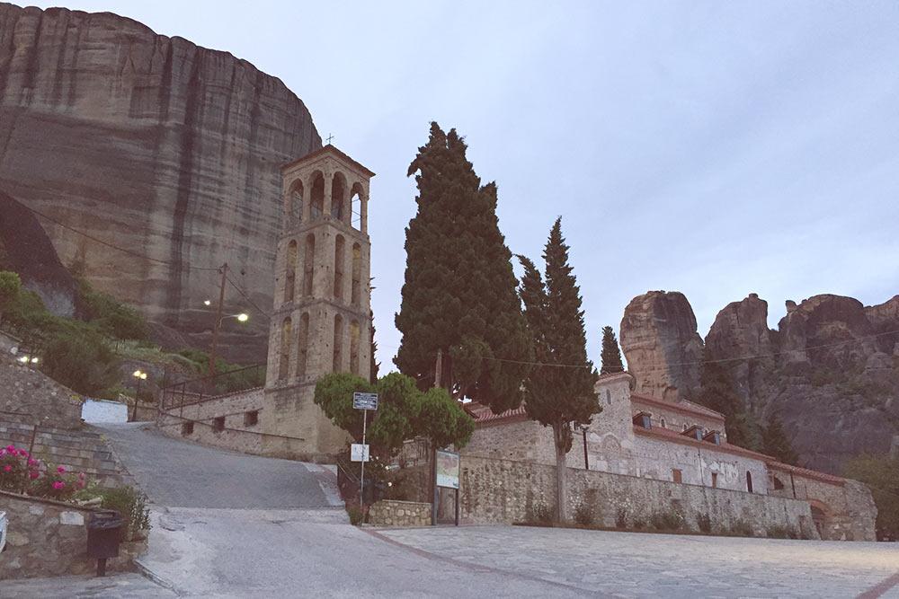 Византийская церковь Успения Пресвятой Богородицы в старой части Каламбаки
