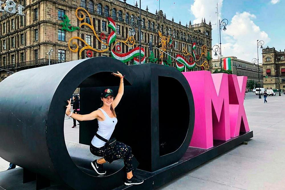 Нацентральной площади Сокало стоит инсталляция избукв CDMX — Ciudad deMéxico, тоесть «город Мехико»