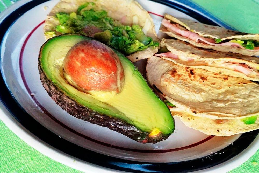 Домашняя кесадилья с сыром, авокадо и ветчиной — мой обычный завтрак