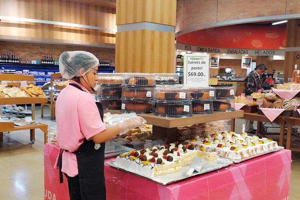 Мексиканцы — большие сладкоежки, поэтому отделы свежей выпечки вмагазинах всегда пользуются большой популярностью