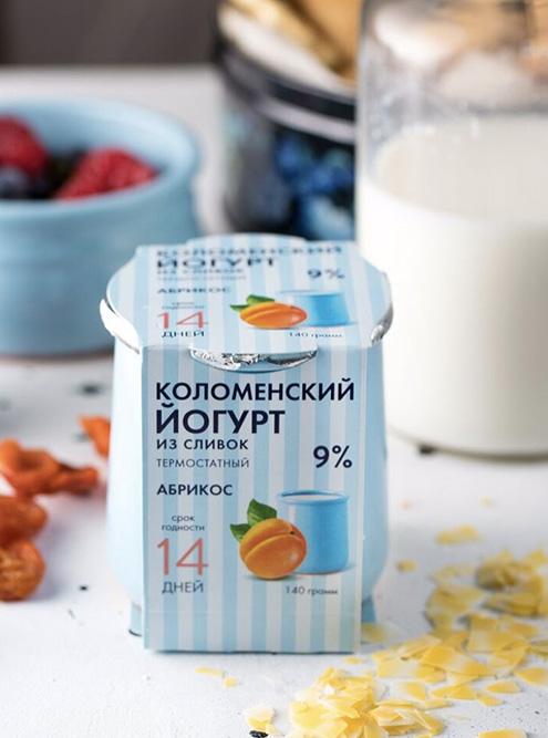 Бренд «Коломенское молоко» выпускает йогурты, творог, сметану в керамических баночках