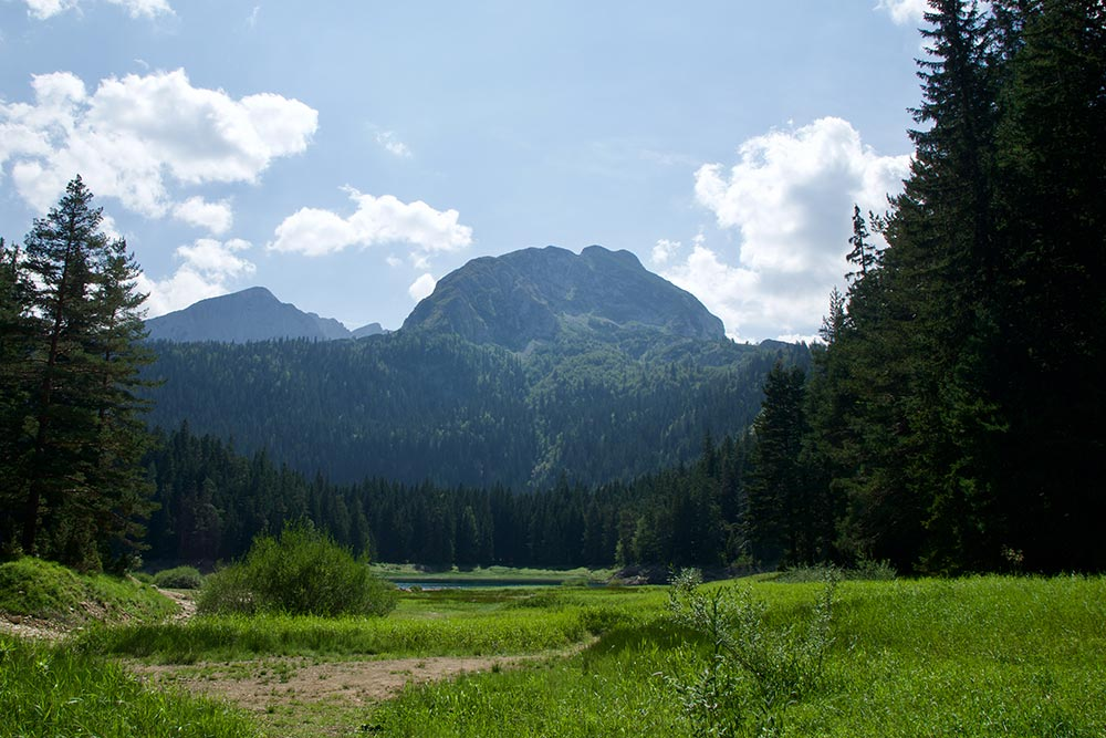 Вид на Боботов Кук, национальный парк Дурмитор