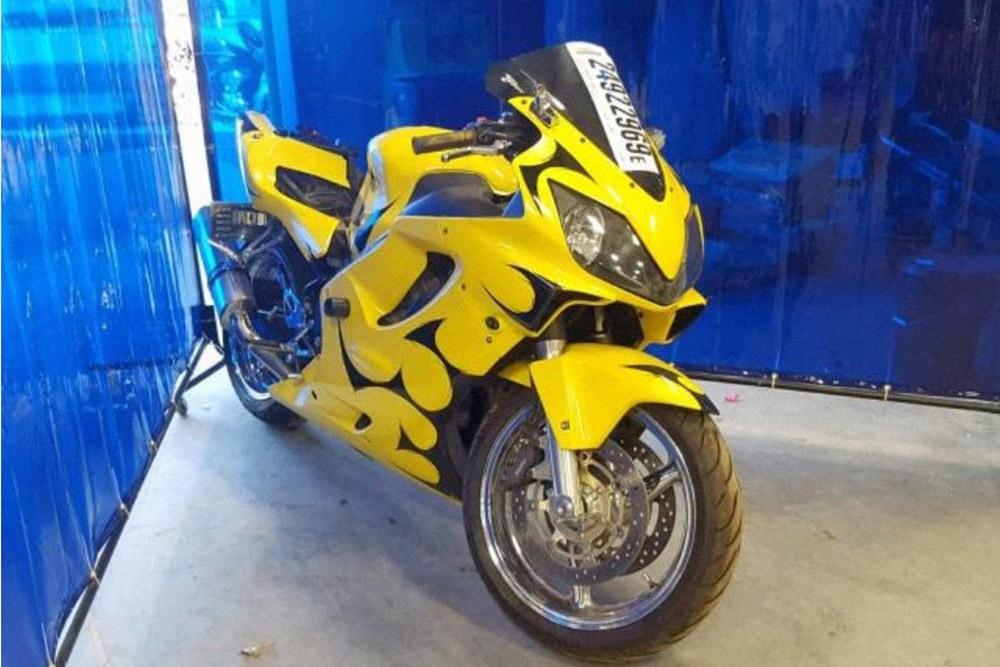 Мотоцикл, который я выбрал. Фото: copart.com