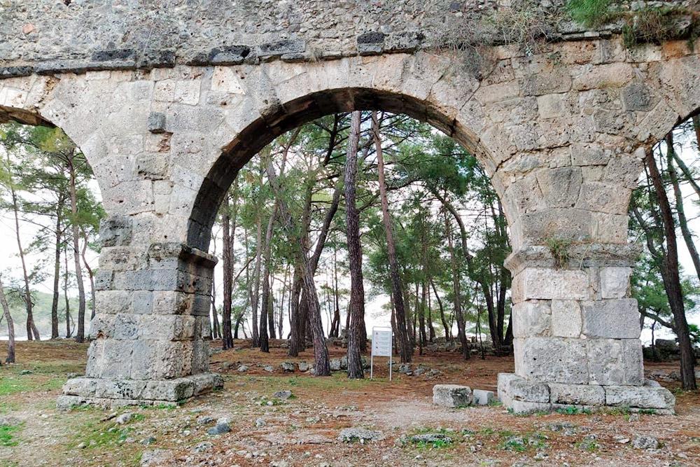 Руины Фазелиса в 57км от Антальи