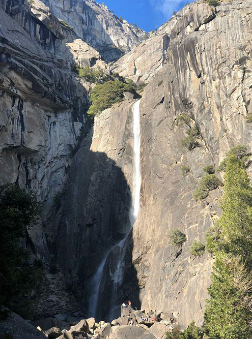 Самый высокий водопад в Северной Америке — 740м