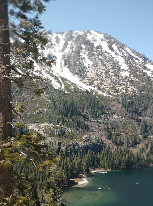 Озеро Тахо — это как Алтай и Карелия одновременно