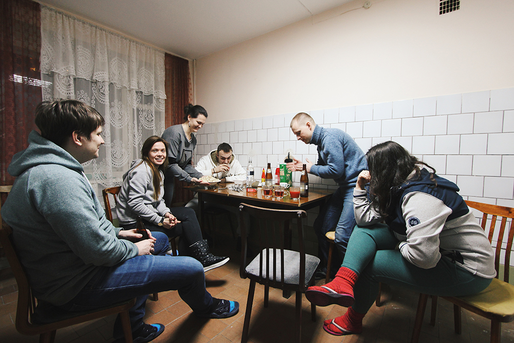 Атмосферная советская кухня в гостинице «Спорт»