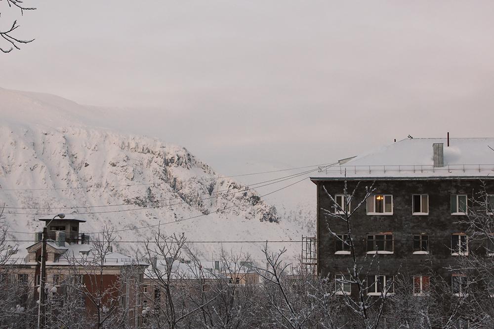 Типичный вид из окна в Кировске