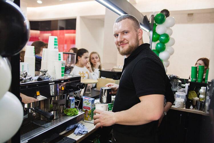 Никита Семиларский, директор «Кофе-лайк» в Кирове