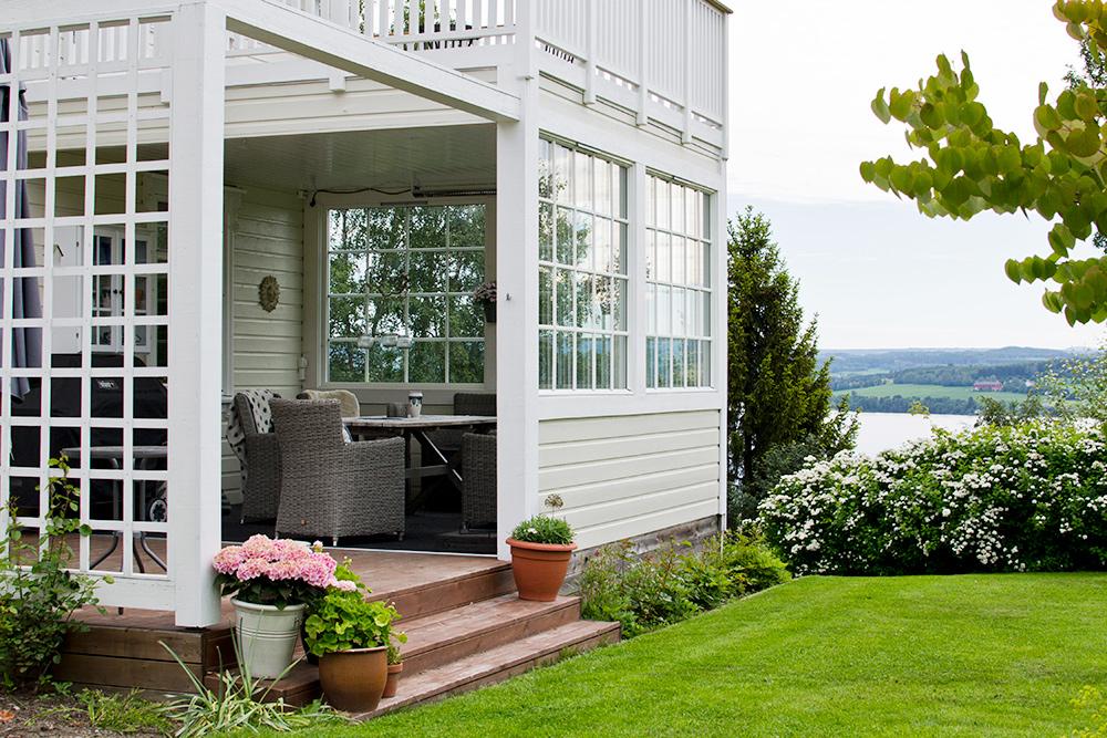 Норвежские дома не огорожены забором. Никто не боится краж