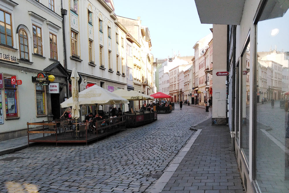 Одна из самых красивых улиц Оломоуца