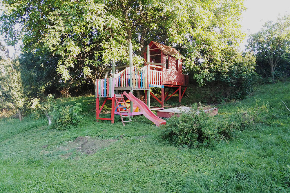 Наша семейная детская площадка