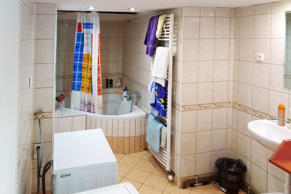 Ванная комната вдоме