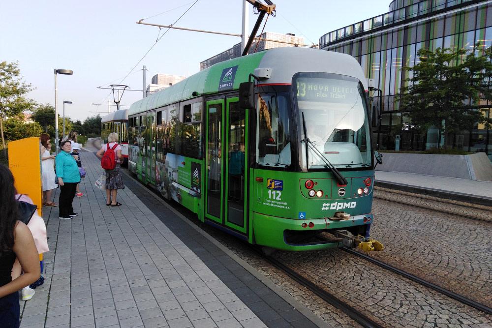 Трамвай вОломоуце