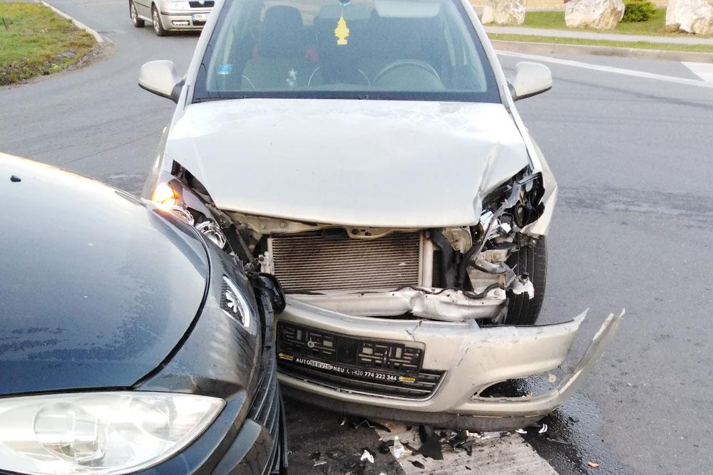 Моя машина после аварии