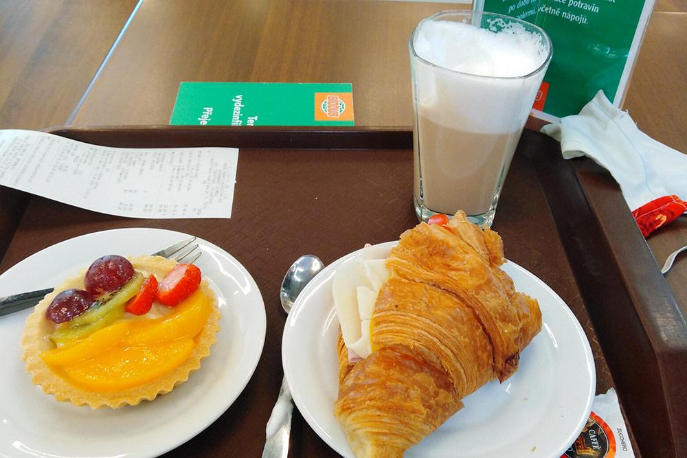 Мой завтрак вторговом центре— 100Kč