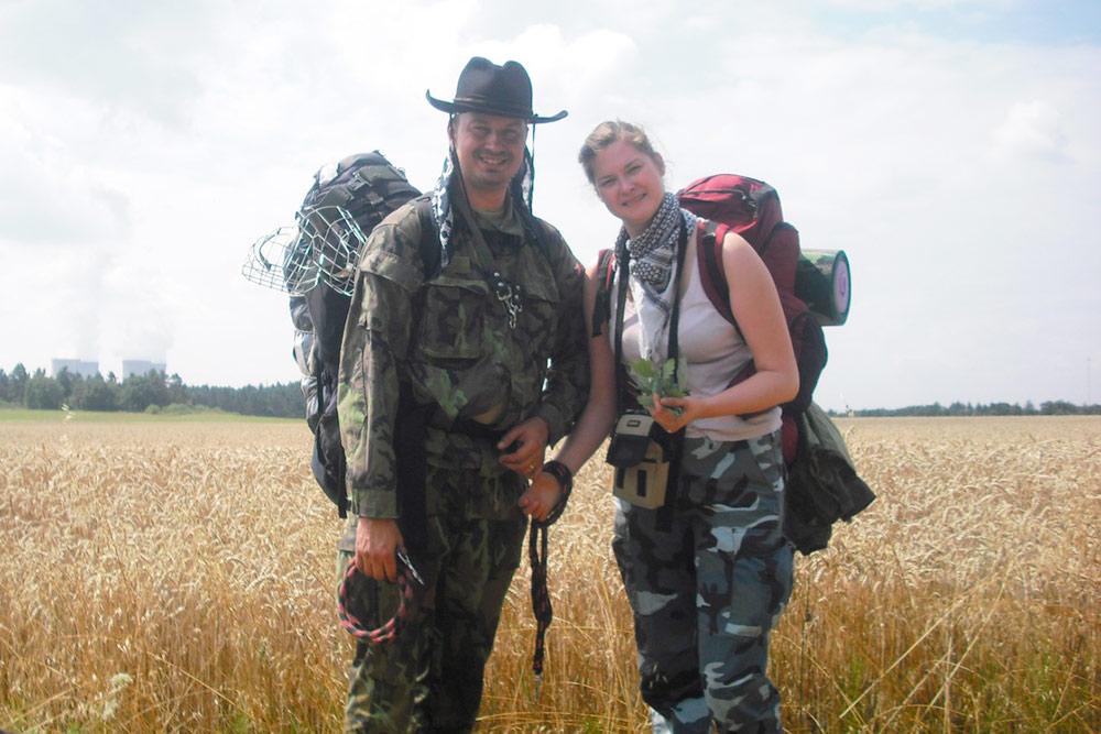 В походе в Южноморавском крае в 2011году