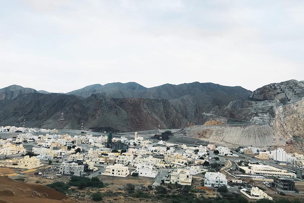 Это Баушар — один из центральных районов Маската