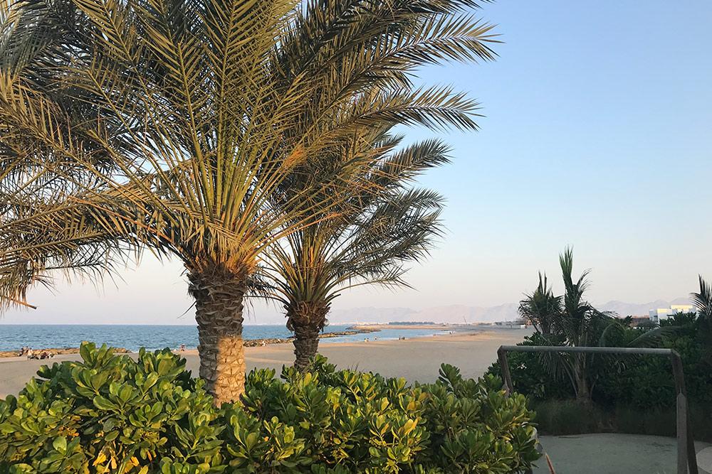А это бесплатный пляж по соседству