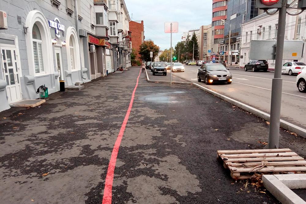 Красная линия протяженностью 6 км объединяет 25 исторических объектов в Омске