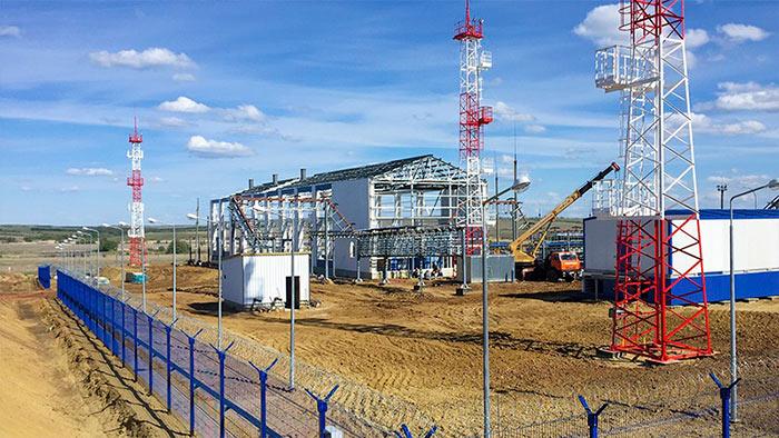 Нефтеперекачивающая станция в Волгоградской области, которую реконструировала наша компания. Работы шли два года, за это время на материалы мы потратили 130млн рублей