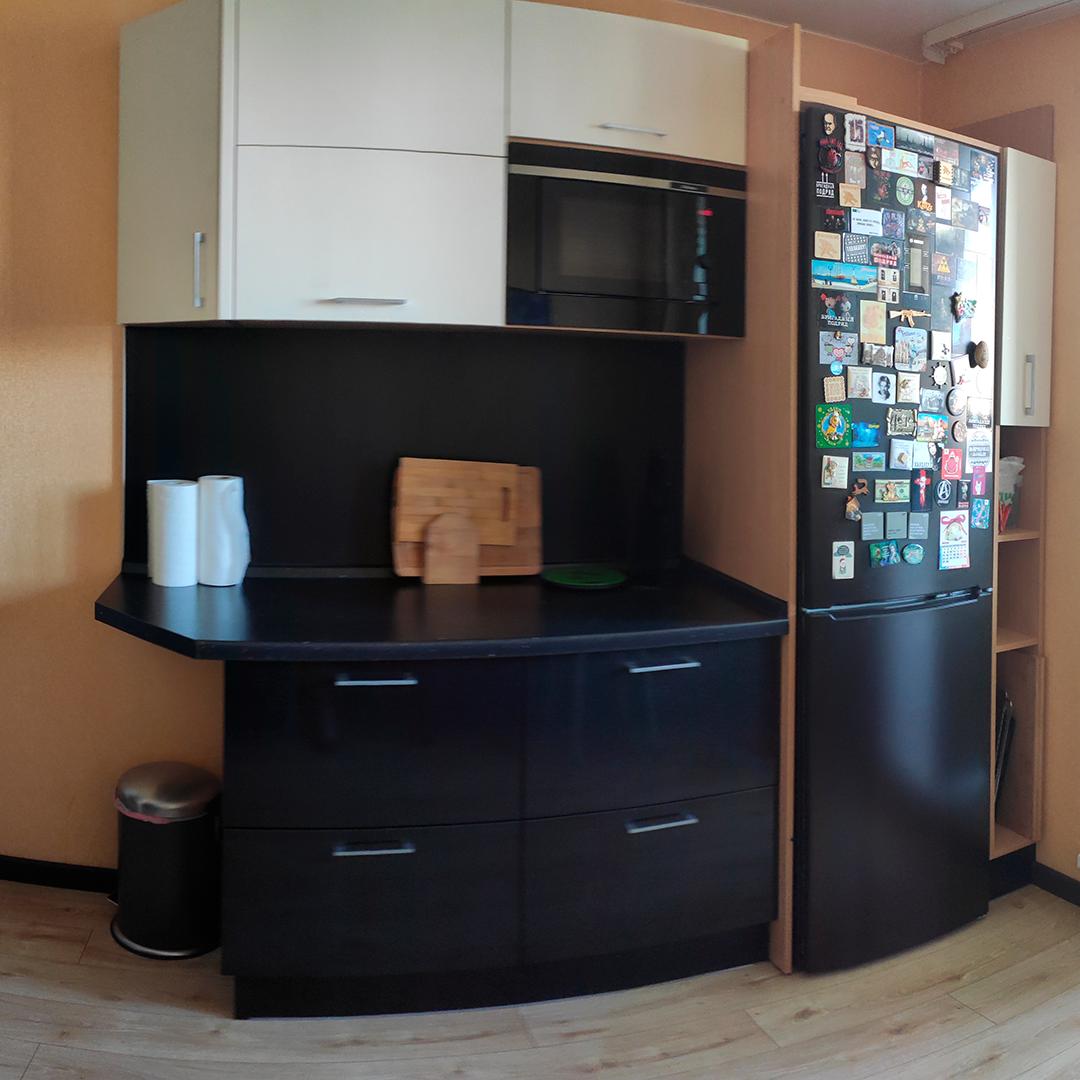 Недавно купили второй блок кухни, он обошелся в 90 000<span class=ruble>Р</span>