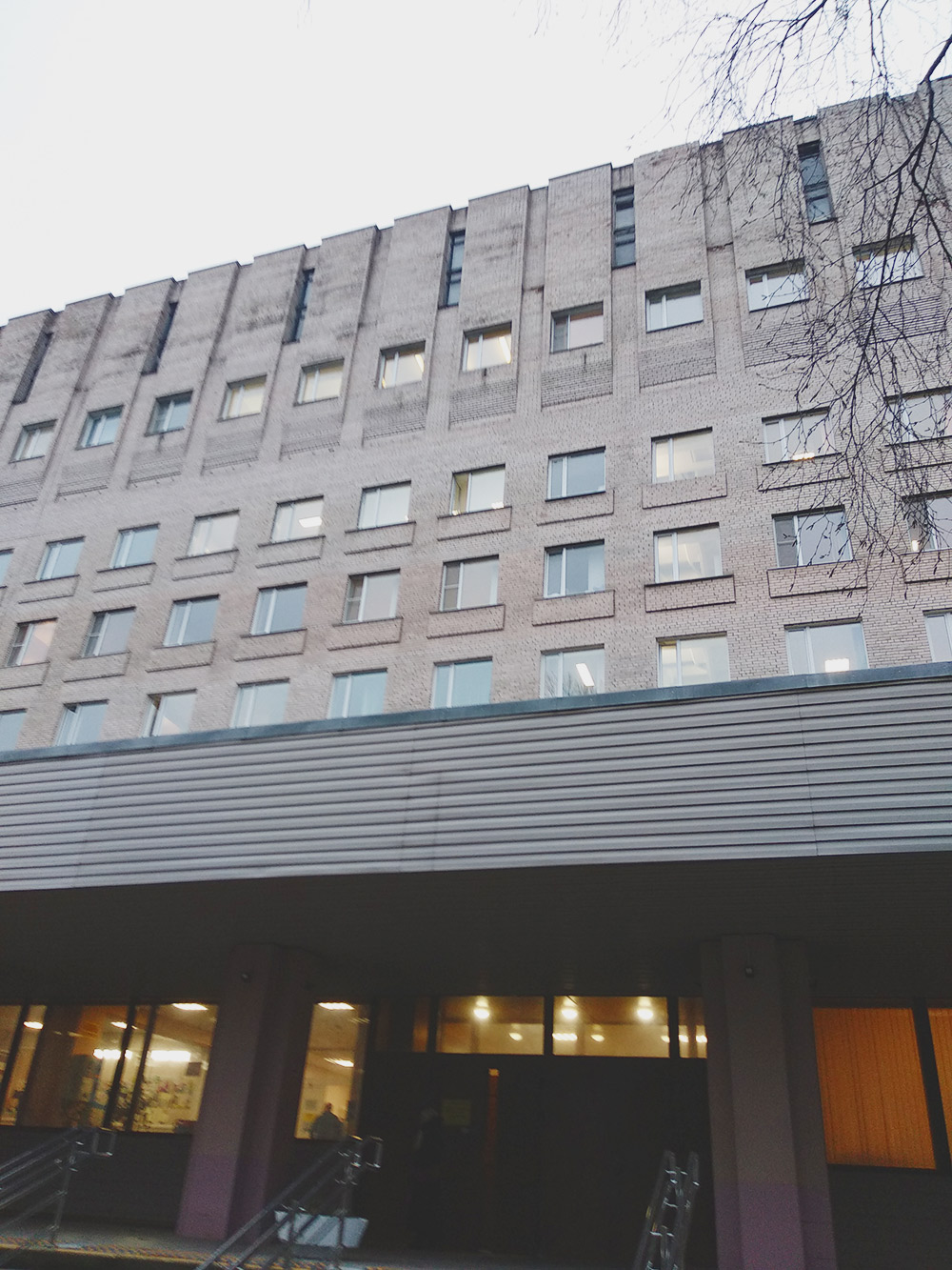 Так выглядит колопроктологическая больница №9 вСанкт-Петербурге