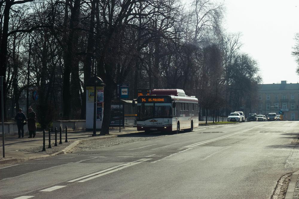 Типичный автобус в Радоме