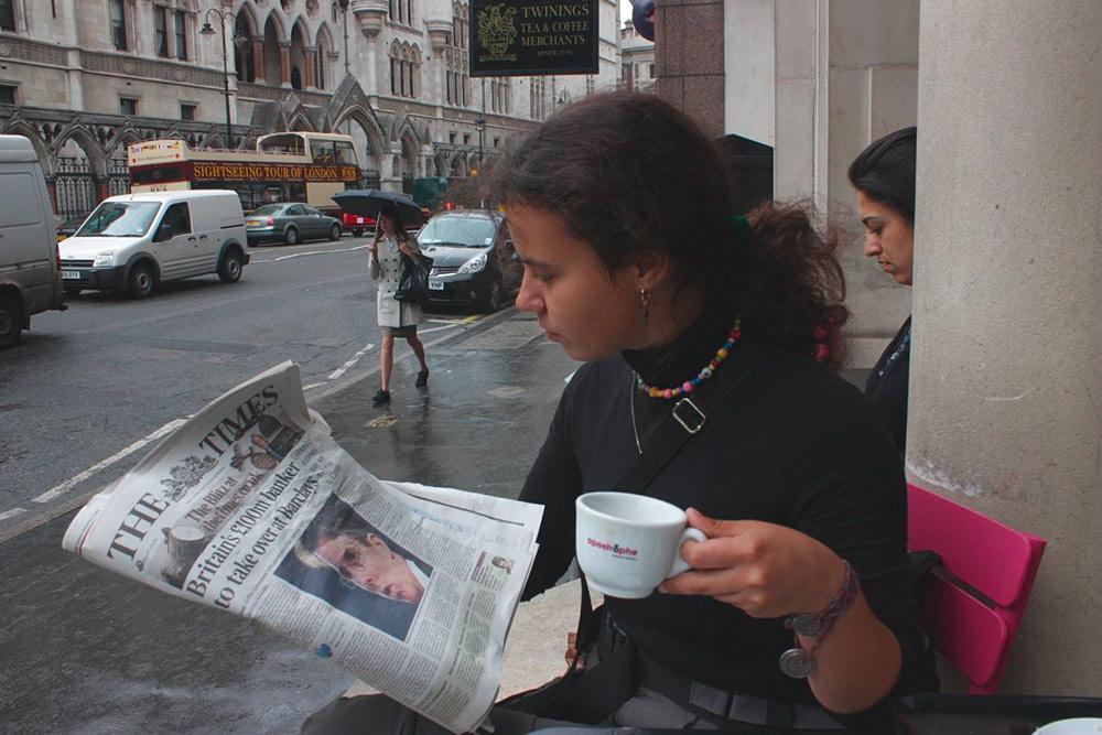 Я в пресс-туре в Лондоне