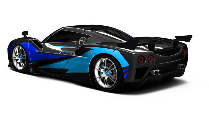Arash AF10 Hybrid Racer