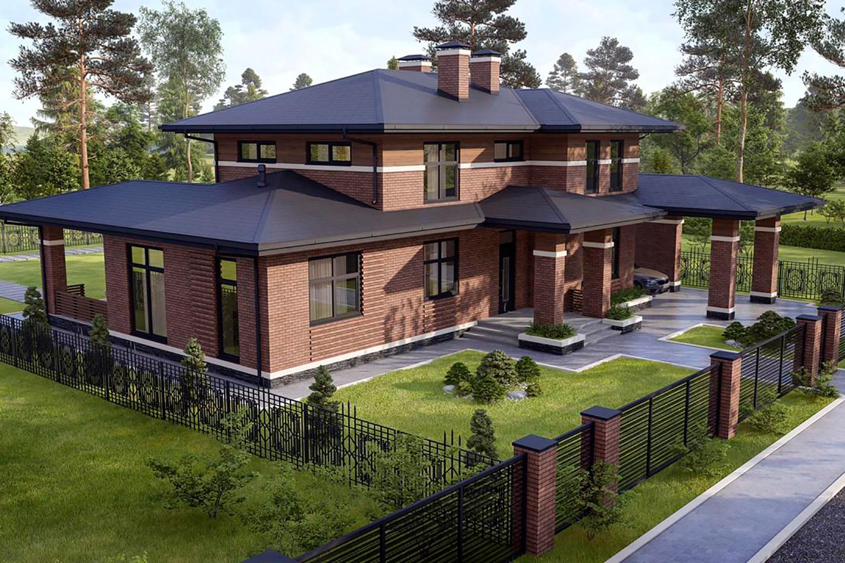 3Д-визуализация будущего дома. Надеюсь, таким он и будет