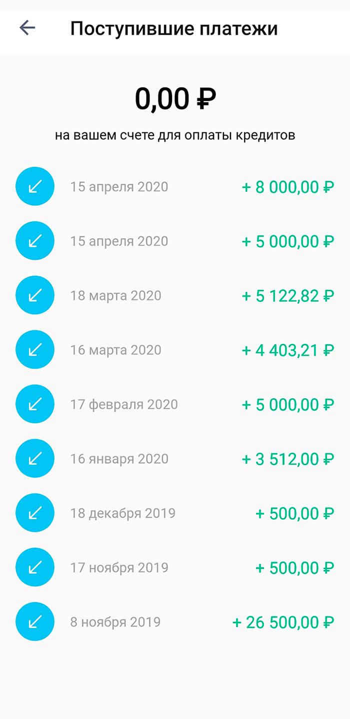 Через неделю после заключения договора образовательная организация перевела 26 500<span class=ruble>Р</span>