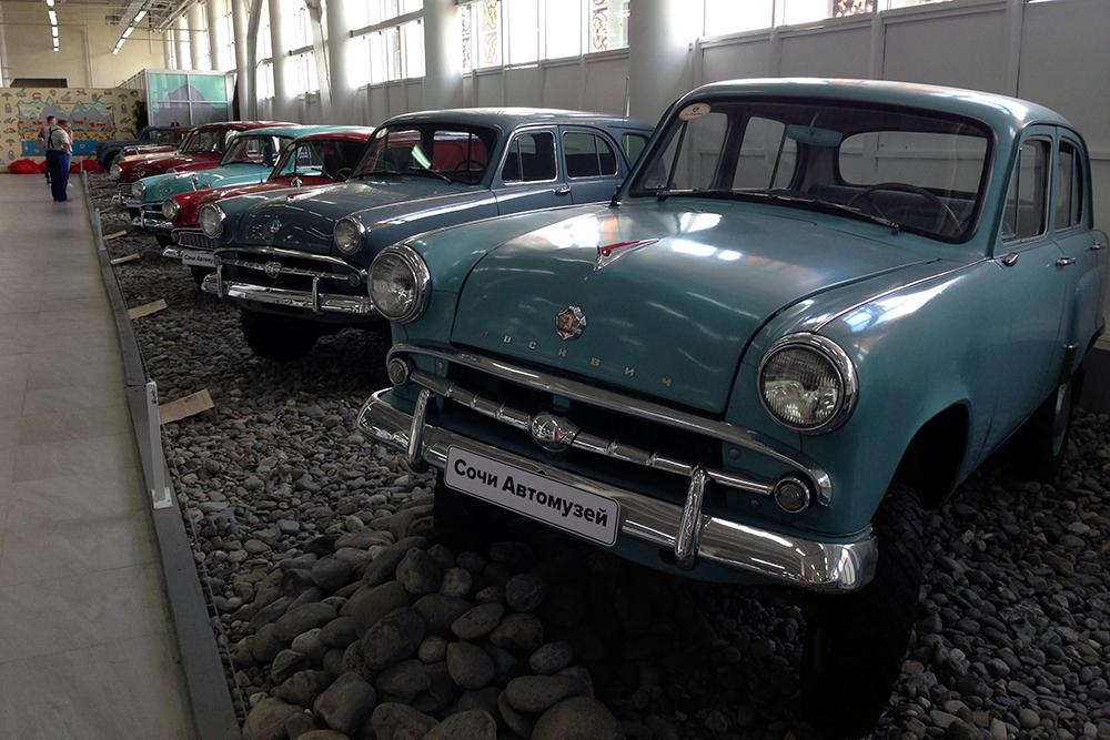 В сочинском автомузее сотни экспонатов из разных эпох