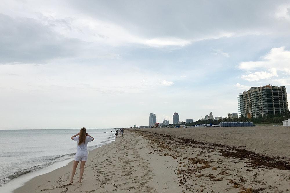 В Майами почти все свободное время мы провели у океана
