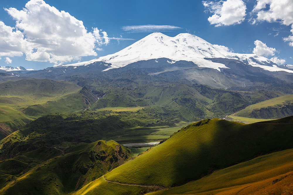 В горах нет шума и вечеринок, зато есть красивая природа