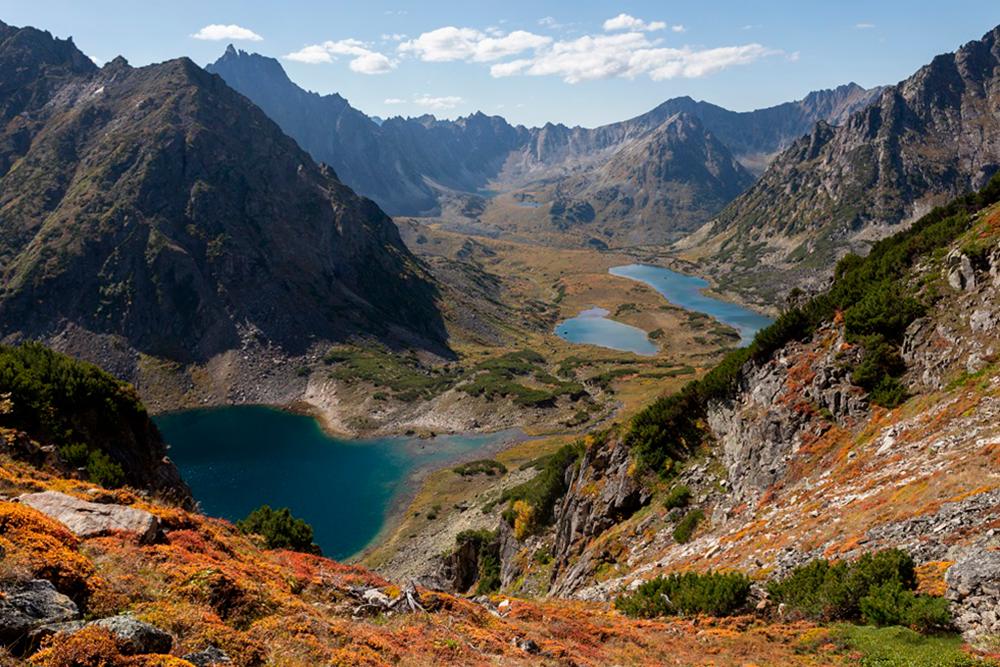 Значительную часть Бургузинского заповедника занимают горы