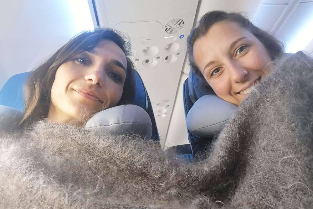 Девушки долго получали визу в Россию, но путешествие им понравилось